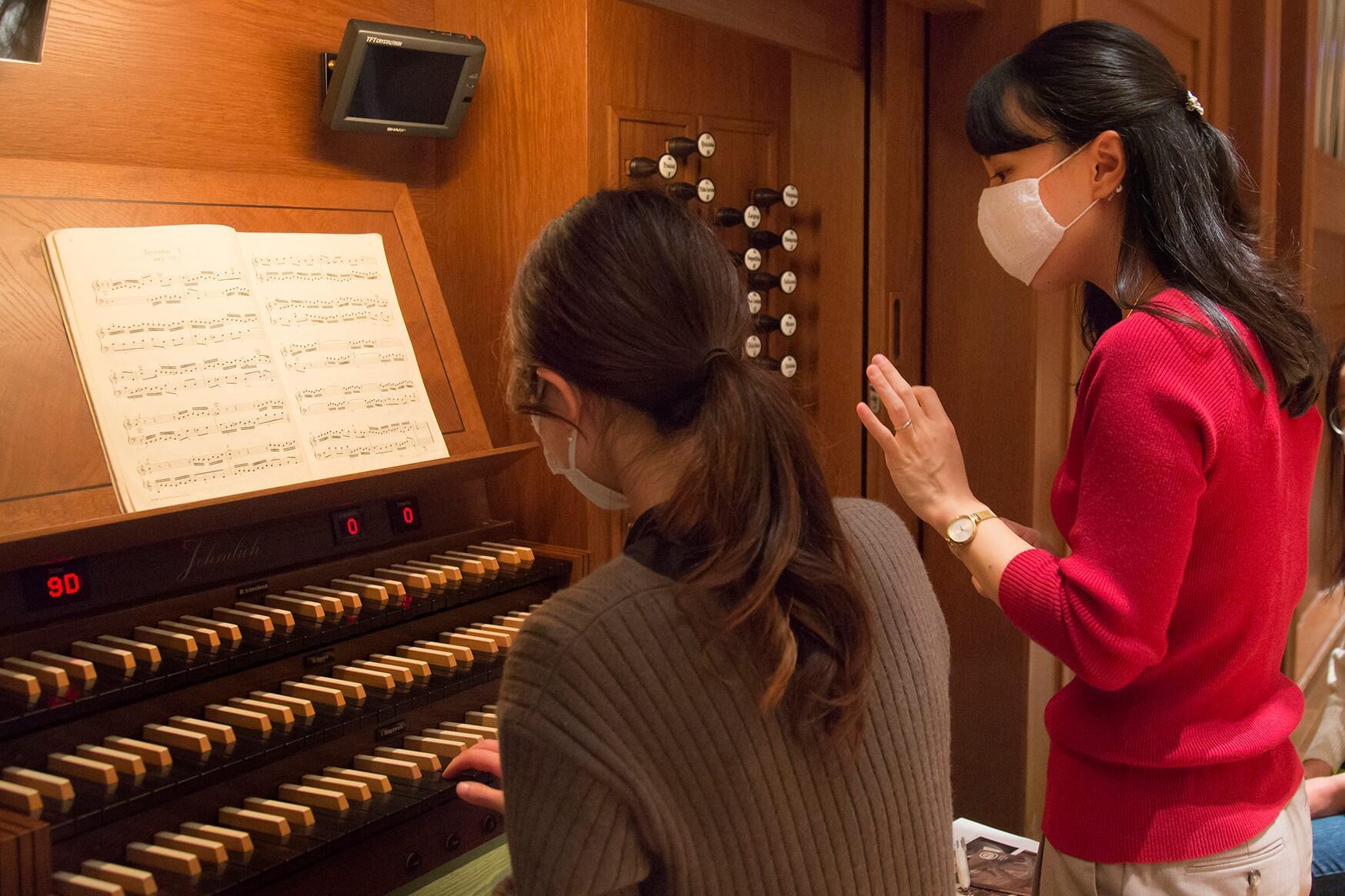 パイプオルガンを弾いてみよう!!一回体験コース (すみだの方対象)